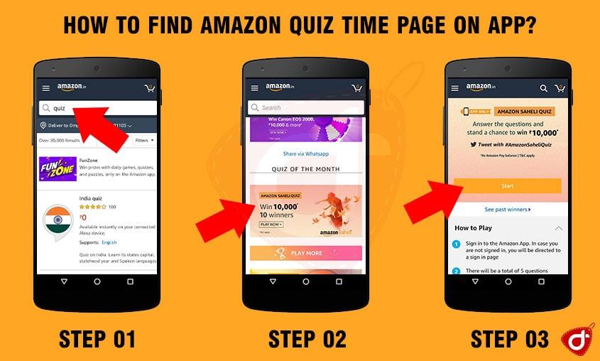 Amazon Saheli Quiz Answers & Win Rs10000 (10 Winners)