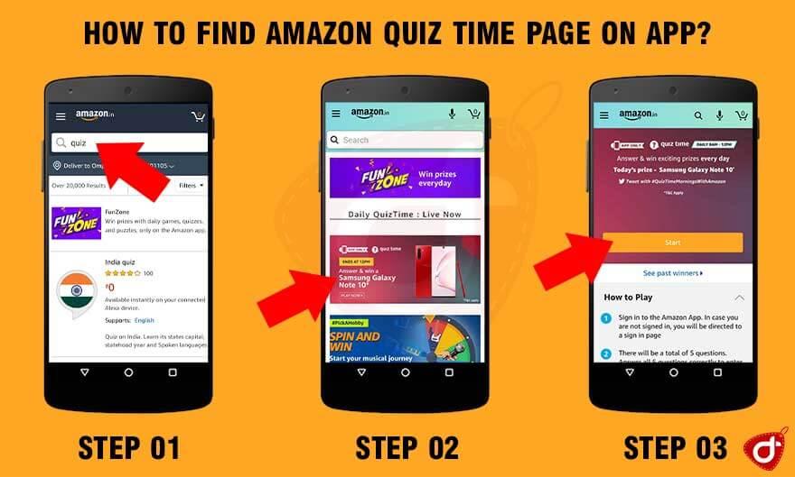 Amazon Quiz Samsung Galaxy Note 10 – 07 June 2020, 8 AM To 12 PM