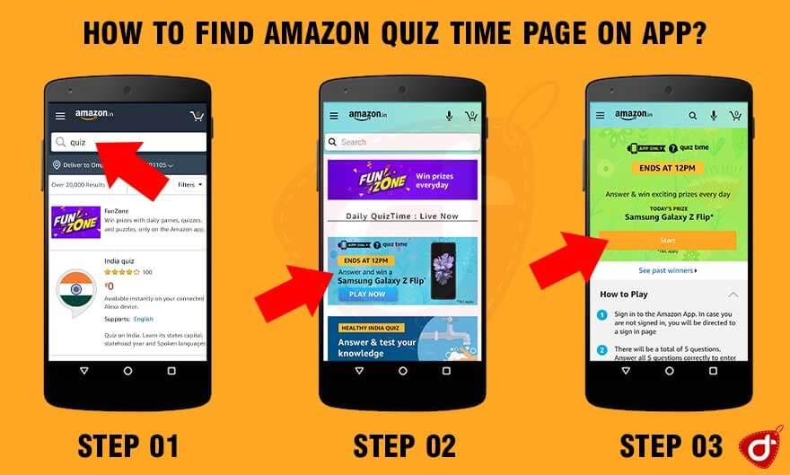 Amazon-Daily-Quiz-Time-How-to-Play-Amazon-Daily-Quiz-Answers-Today-Win-Samsung-Galaxy-Z-Flip