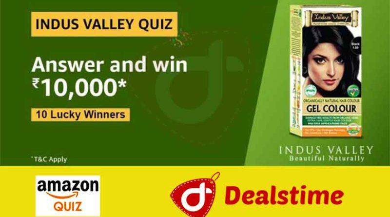 Amazon Indus Valley Quiz