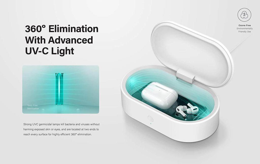 LYFRO Air Capsule UV Sanitizer Box