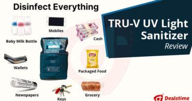 TRU-V UV Light Sanitizer Review-Dealstime